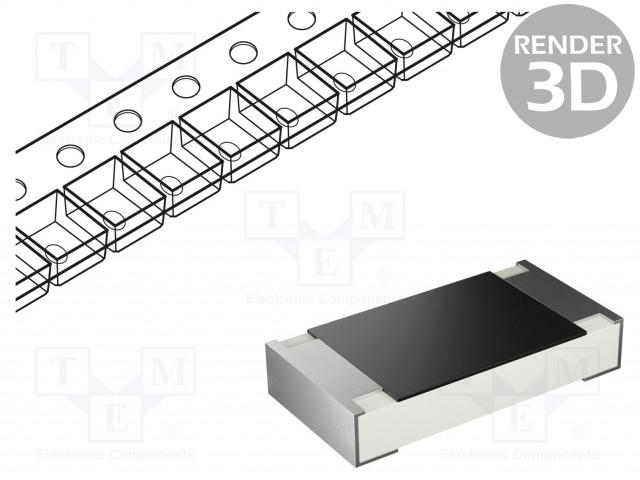 YAGEO RC1206FR-0710KL - Resistor: thick film