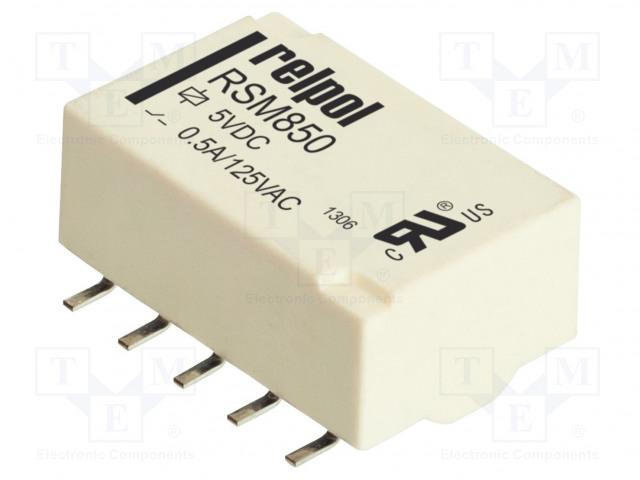 RELPOL RSM850-6112-8M-1005 - Relé: elektromagnetické