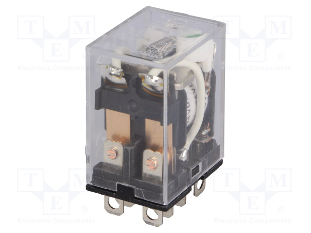LY2N 24VDC OMRON - Relay: electromagnetic LY2-N-24DC | TME ... on