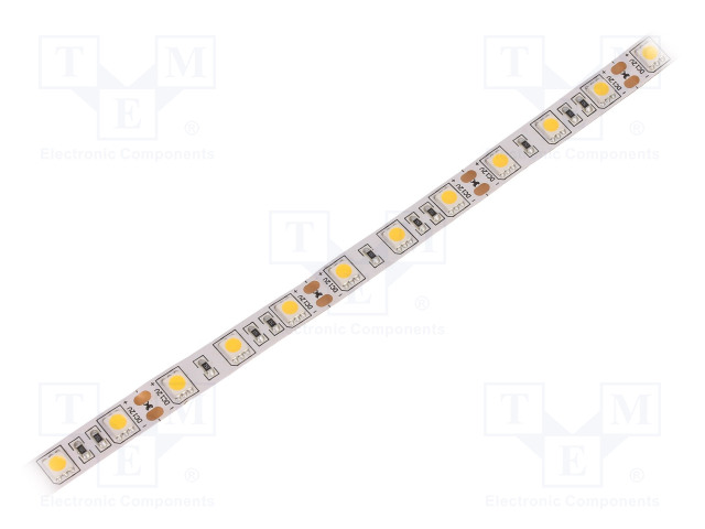 WISVA OPTOELECTRONICS HH-S60F010-5050-12 WW WHITE PCB IP20 - LED tape