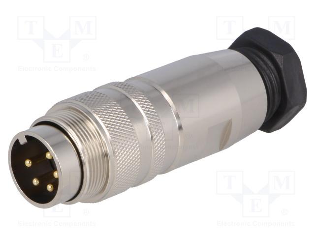 BULGIN PXMBNI16FIM05ASCPG9 - Connector: M16