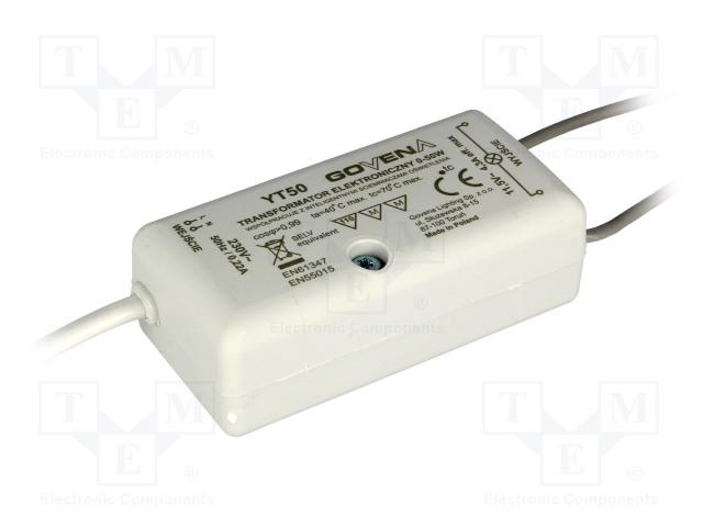 GOVENA TEG-YT-50 - Transformateur: électronique