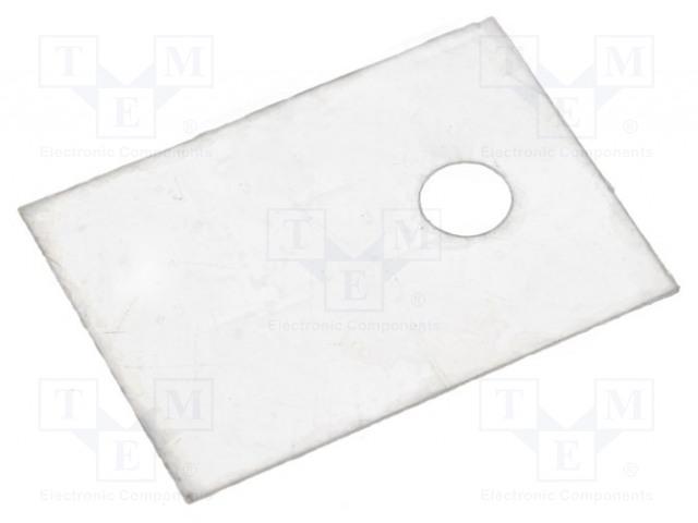 NINIGI MICA-TO220 - Tepelně vodivá podložka: slídová