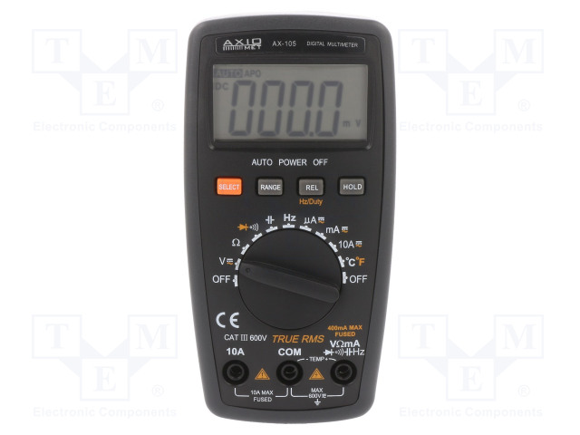 AXIOMET AX-105 - Digital multimeter