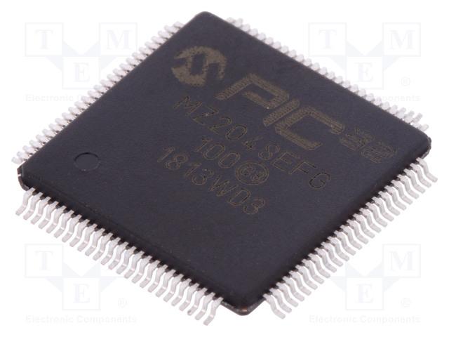 MICROCHIP TECHNOLOGY PIC32MZ2048EFG100-I/PT - Mikrokontrolér PIC
