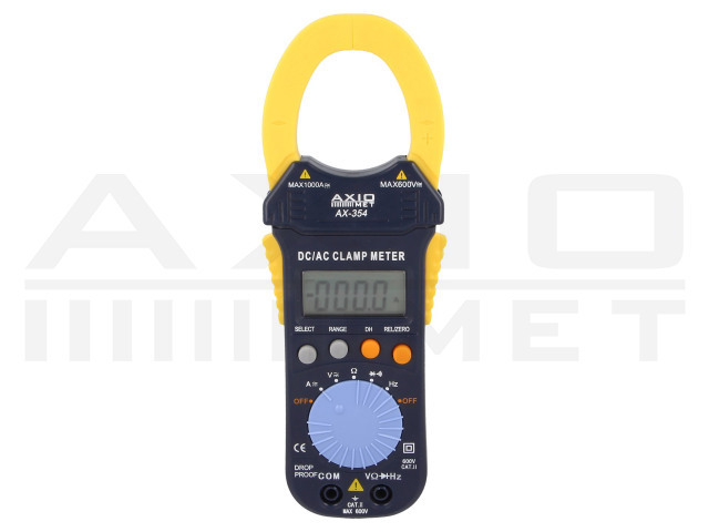 AX-354 AXIOMET, AC/DC digital clamp meter