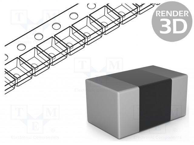 ROYAL OHM CQ02WGF8200TCE - Resistor: thick film