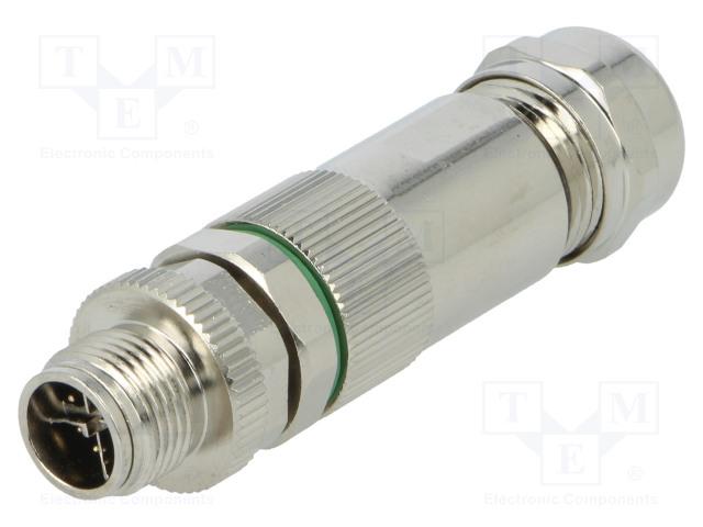 BULGIN PXMBNI12FIM08XSCPG9 - Plug