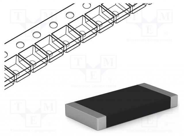 ROYAL OHM CQ1007F1800T4E - Resistor: thick film