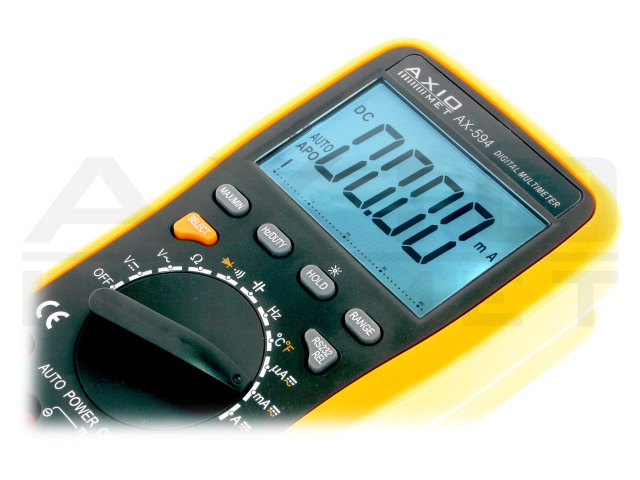 AX-594 AXIOMET, Digital multimeter