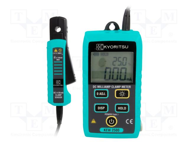 KEW2500 KYORITSU - Current loop clamp meter   TME