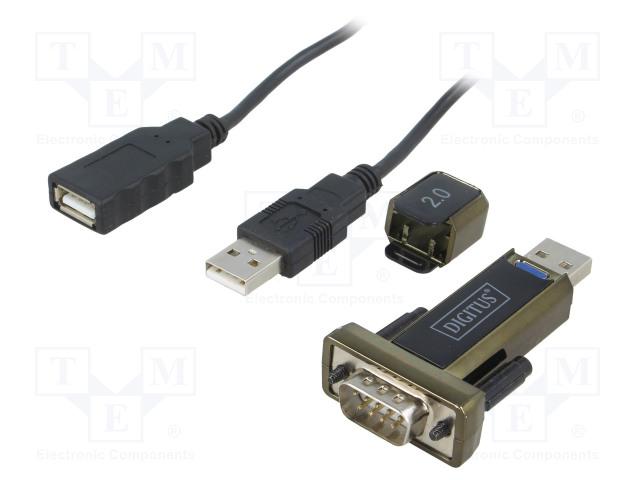 DIGITUS DA-70167 - Convertor USB-RS232