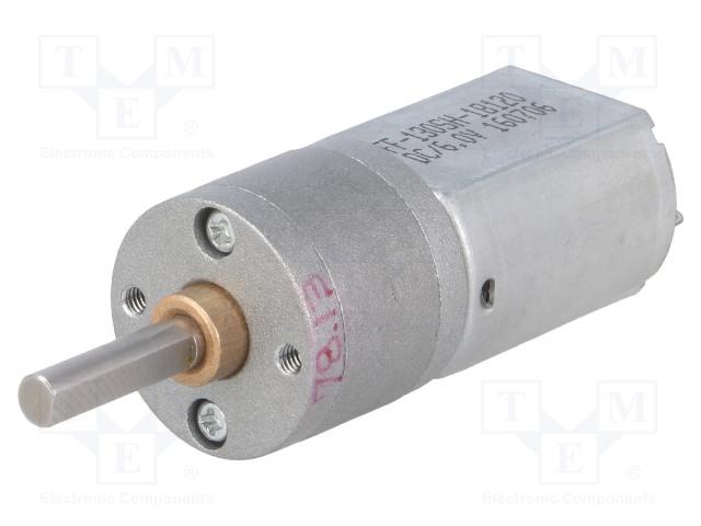 POLOLU 78:1 METAL GEARMOTOR 20DX43L MM 6V DUAL - Motor: DC