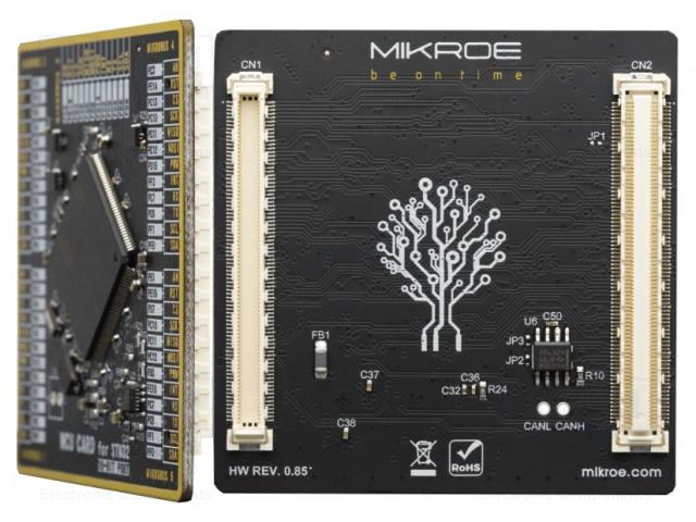 MIKROELEKTRONIKA MCU CARD FOR STM32 STM32F767ZG - Multiadapter