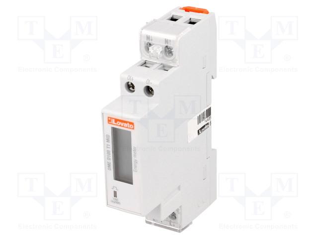 LOVATO ELECTRIC DME D100 T1 MID - Sähköenergian laskurit