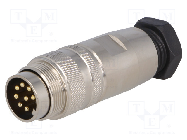 BULGIN PXMBNI16FIM08ASC - Connector: M16