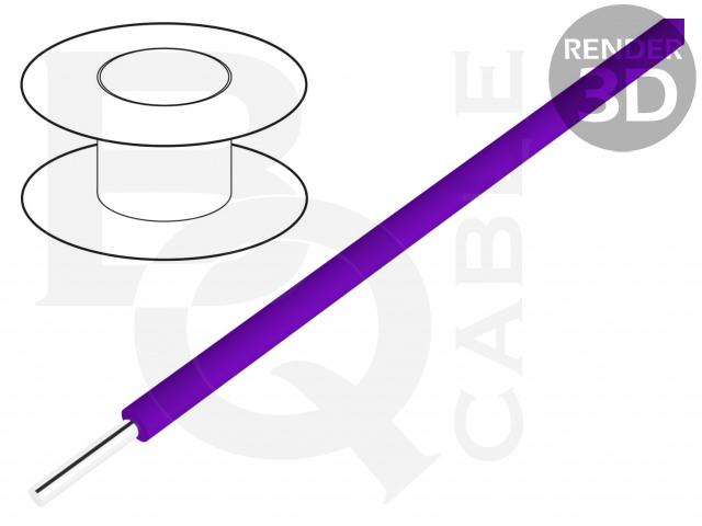 KYNAR-VI/100 BQ CABLE, Vezeték