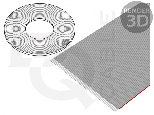 FLC-64/30-E BQ CABLE, Leiding