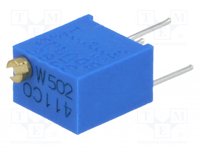 BOURNS 3266W-1-502LF - Potentiometer: mounting