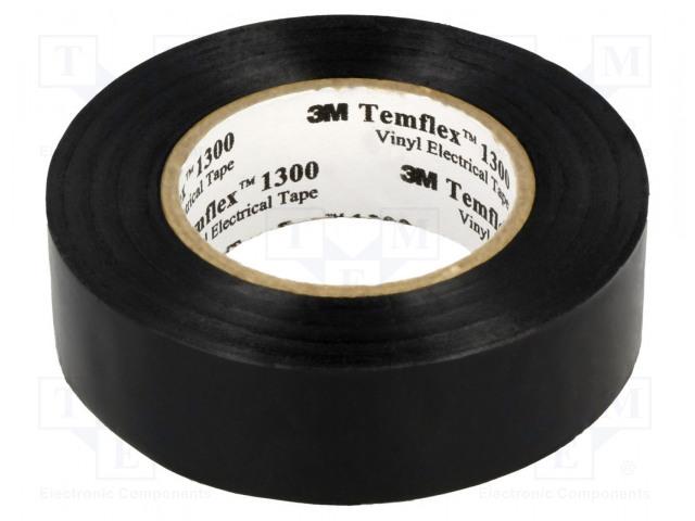 TEMFLEX 1300 19X20 CZARNA 3M - Tape: electrical insulating