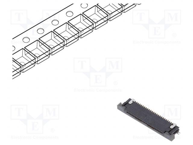 AMPHENOL SFV24R-4STBE1HLF - Steckverbinder: FFC (FPC)