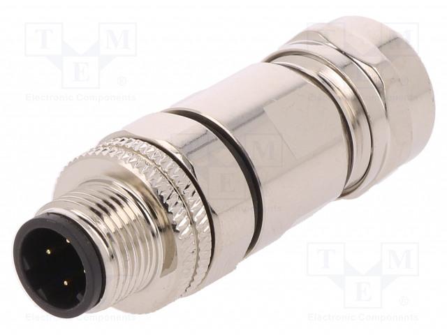 BULGIN PXMBNI12FIM04DSCPG9 - Plug