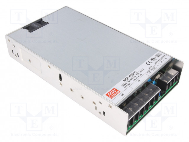 MEAN WELL RSP-500-12 - Power supply: switched-mode