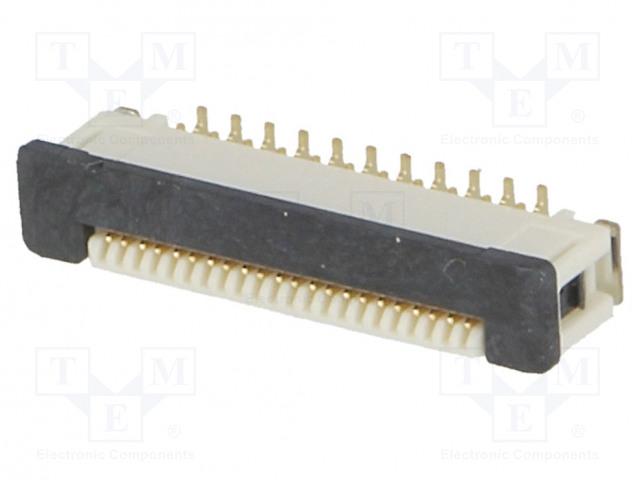 OMRON OCB XF2J222412AR100 - Connector: FFC (FPC)