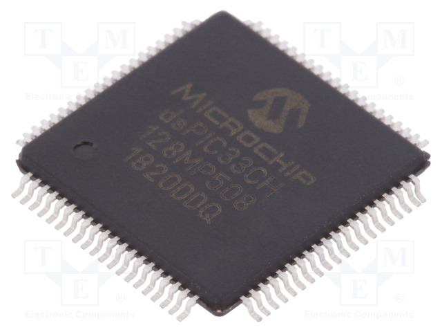 MICROCHIP TECHNOLOGY DSPIC33CH128MP508-I/PT - DsPIC mikro-ohjain