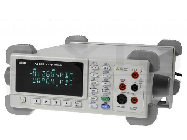 AX-8450A AXIOMET, Stolový multimeter