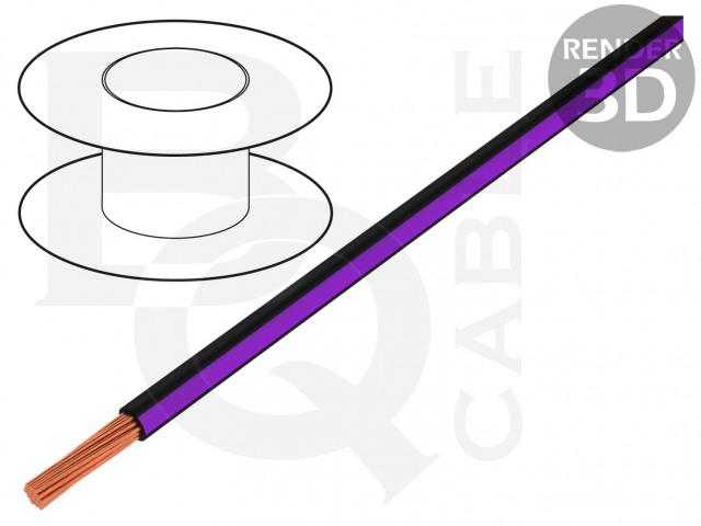 LGY0.35-BK/VI BQ CABLE, Vodič