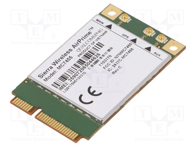 MC7455 SIERRA WIRELESS - Module: GPS/LTE | TME - Electronic