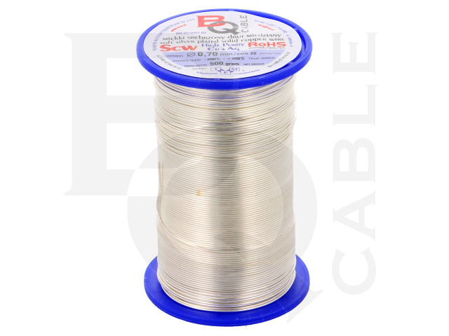SCW-0.70/500 BQ CABLE, Silver plated copper wires
