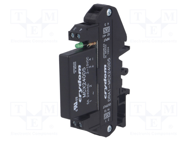 CRYDOM DRA1-MCX240D5 - Relay: solid state