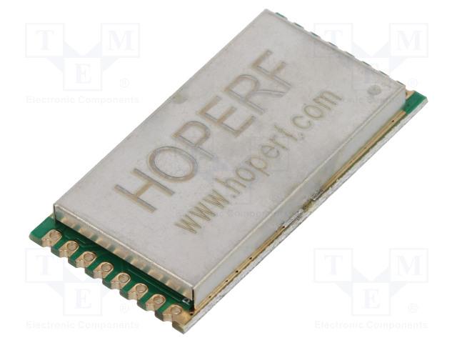 HOPE MICROELECTRONICS RFM98PW-169S2 - Module: RF