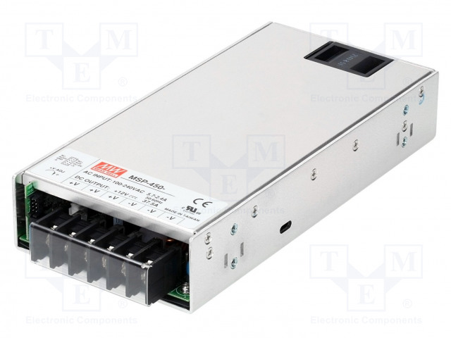 MEAN WELL MSP-450-24 - Alimentation: à impulsions