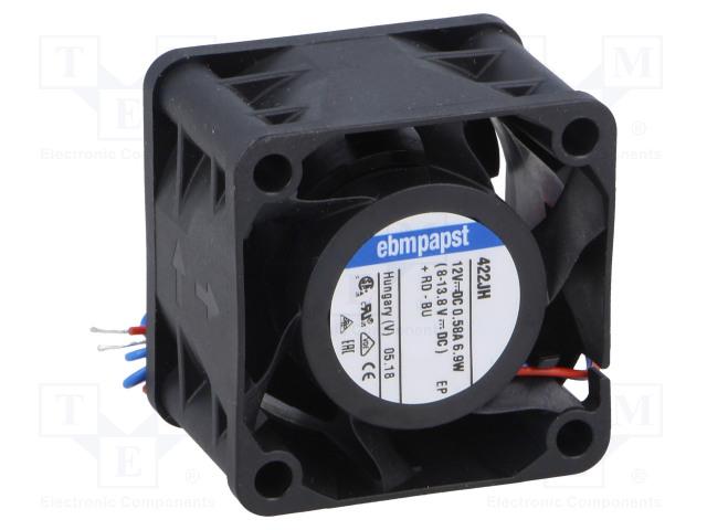 EBM-PAPST 422 JH - Ventilátor: DC
