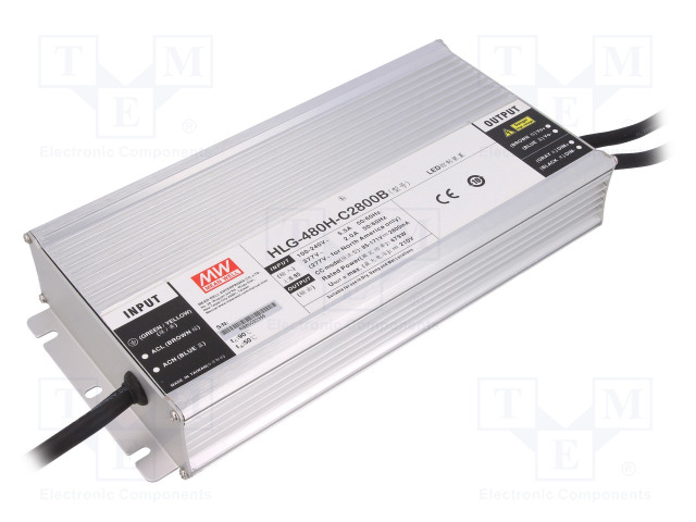 MEAN WELL HLG-480H-C2800B - Power supply: switched-mode