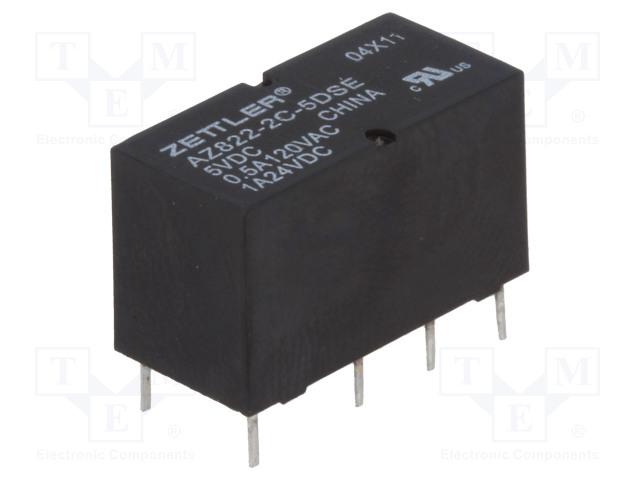 ZETTLER AZ822-2C-5DSE - Relé: elektromagnetické