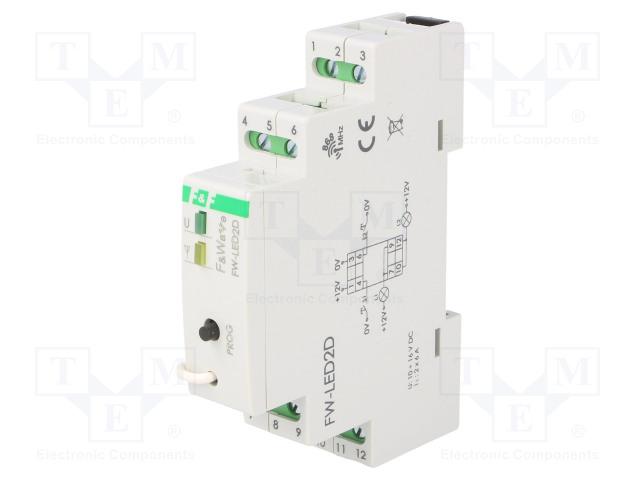 F&F FW-LED2D - Kontrolér LED
