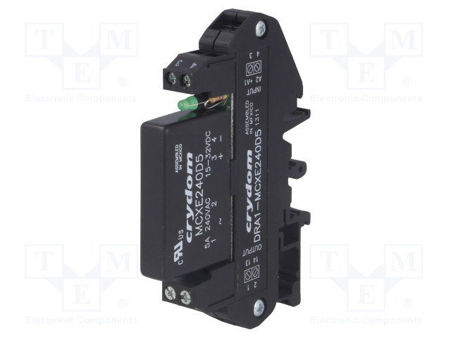 CRYDOM DRA1-MCXE240D5 - Relay: solid state