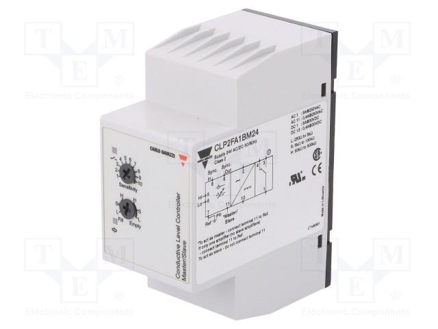 Регуляторы-Жидкость, Уровень Модуль: реле контроля уровня; уровень проводящей жидкости; SPDT Фото 1.