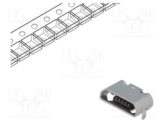 MOLEX 105164-0001 - Zásuvka