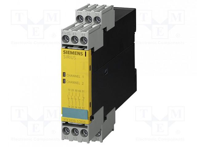 SIEMENS 3TK2830-1CB30 - Modul: bezpečnostní relé