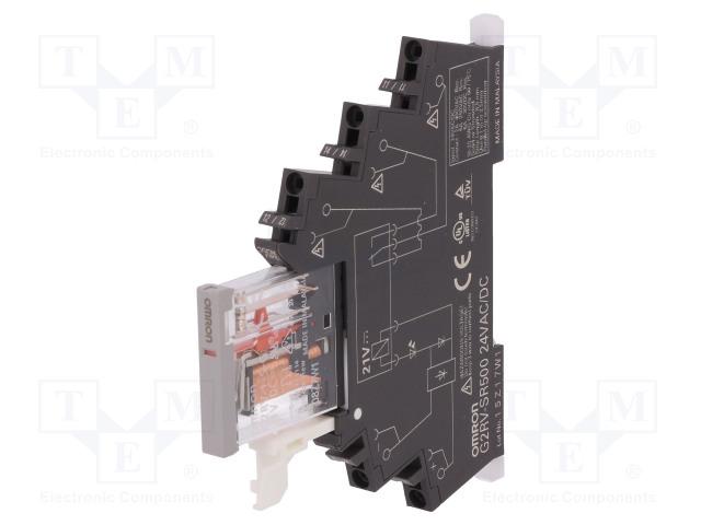 OMRON G2RV-SR500 AC/DC24 - Relais: d'interface
