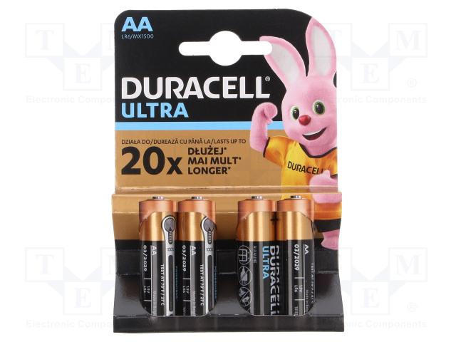 DURACELL MN1500 ULTRA POWER - Paristo: alkaliparisto