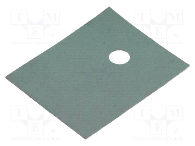 FISCHER ELEKTRONIK WK 247 - Термопроводима подложка: силиконова