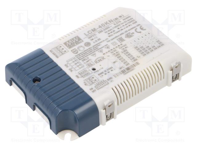 MEAN WELL LCM-40KN - Napájací zdroj: KNX / LED