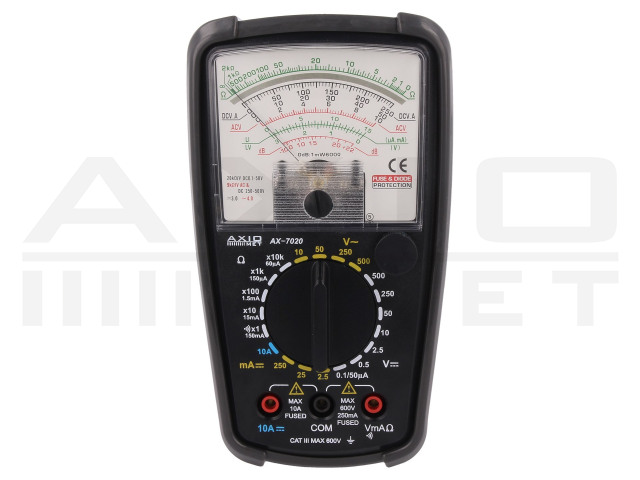 AX-7020 AXIOMET, Analogue multimeter