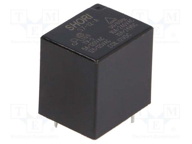 SHORI ELECTRIC S7-12-1A - Relé: elektromagnetické